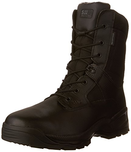 5W 8 Side 11 Waterproof Tactical 11 Boots inch 5 Storm zip EE Men's BLACK Black pqtOnfUwf
