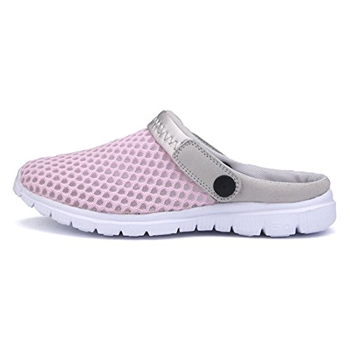 39 Slippers Pink 44 Shoes Shoes Summer Hollow Men Women Casual Anti Beach Slip Breathable Sandals On Sllip Shoes Water Meedot House qwtU1H
