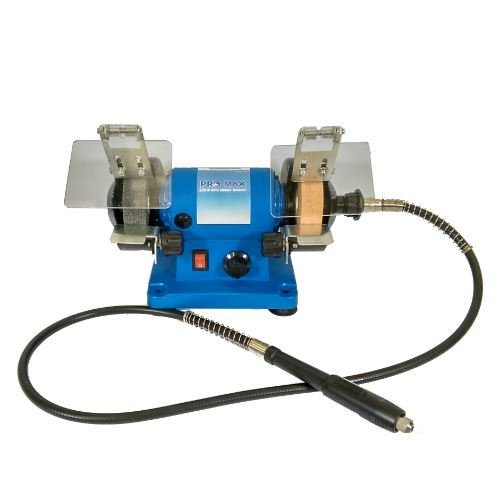 Mini Bench Grinder 120W Variable Speed With Flexi-Drive Shaft - Silverline Pro-Max Quality Tools & Accessories