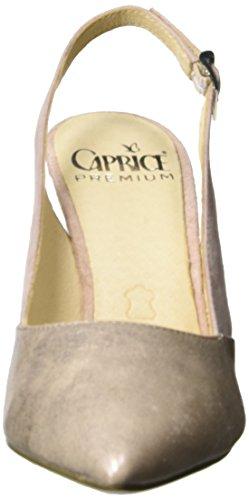 Caprice 29604 Damen Slingback Sandalen Rose (rose Met.comb)
