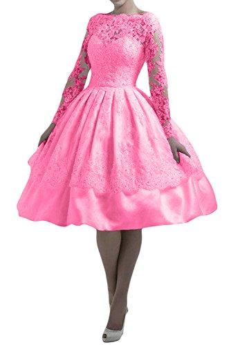mujer Vestido para Rosa Topkleider 46 trapecio FtxpOwxUqd