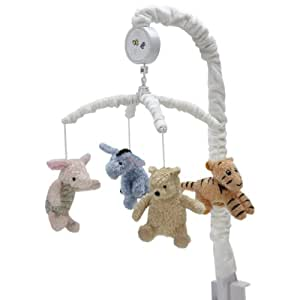 Disney My Friend Pooh Musical Mobile, Sage/Ivory (Discontinued by Manufacturer)