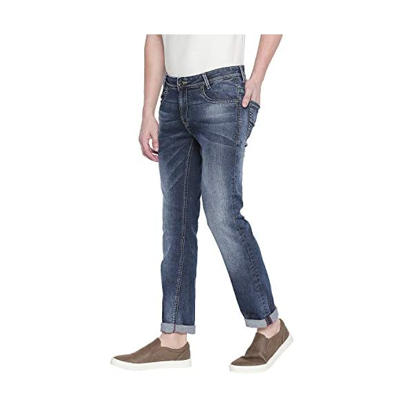 Mufti Blue Dark Super Slim Fit Fashion Jeans 2021 July Care Instructions: Cold machine wash use mild detergent & turn inside out before washing and drying do not bleach warm iron if needed Fit Type: Slim Material Composition: 98% COTTON + 2% Elastane