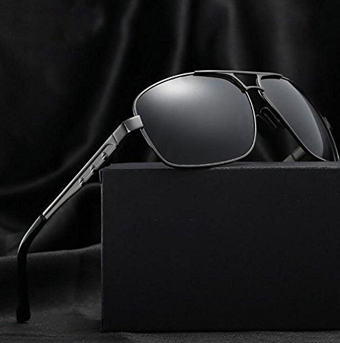 de de de Hombres polarizadas los YANXJING Gafas Nuevo UV Sol conducción Coche p8EqC