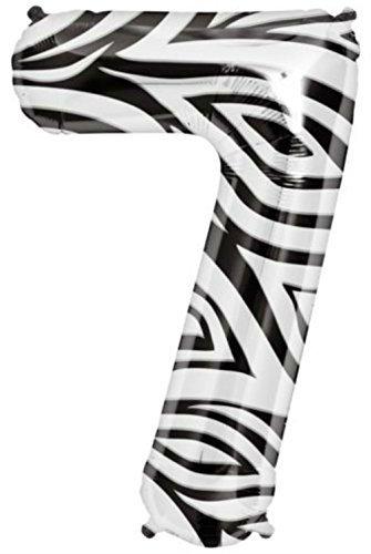 Zebra Mylar Balloon - 9