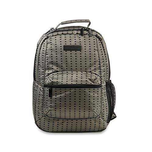 JuJuBe Be Packed Backpack/Diaper Bag, Onyx Collection - Black Olive