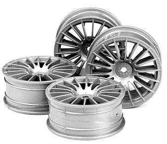 Tamiya 51046 1/10 Medium Narrow 18-Spoke Wheels - Rc Nitro Tamiya