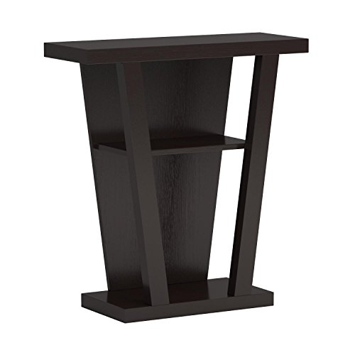 Coaster Home Furnishings 950136 Contemporary Console Table, Cappuccino New