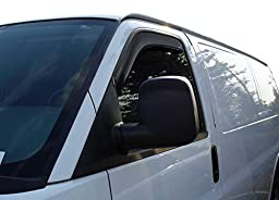 Auto Ventshade 192455 In-Channel Ventvisor Window Deflector, 2 Piece