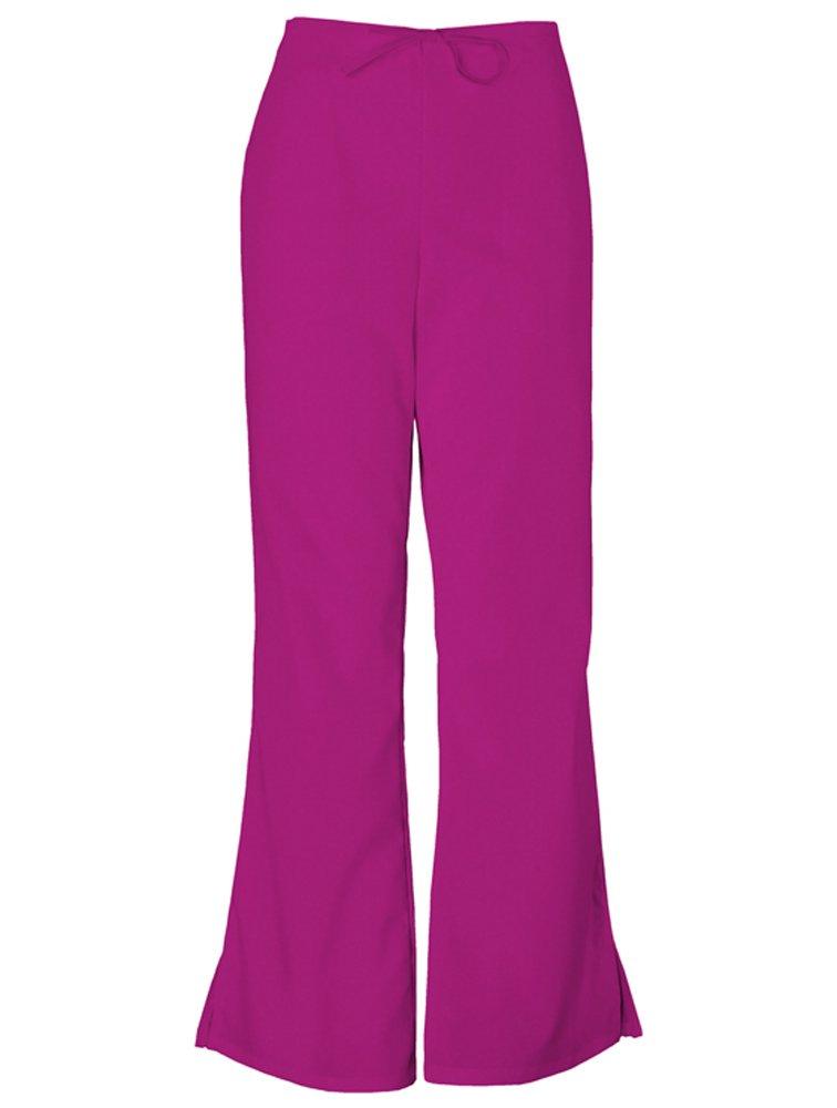 Cherokee Workwear Scrubs 4101 Low Rise Flare Leg Scrub Pant (Azalea, Large)