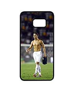 Samsung S6 Edge Plus Funda Case Football Player Cristiano Ronaldo -Personalized Drop Protection Rugged Slim Samsung Galaxy S6 Edge Plus Back Funda Case Cover For Guys (Not For S6 / S6 Edge)