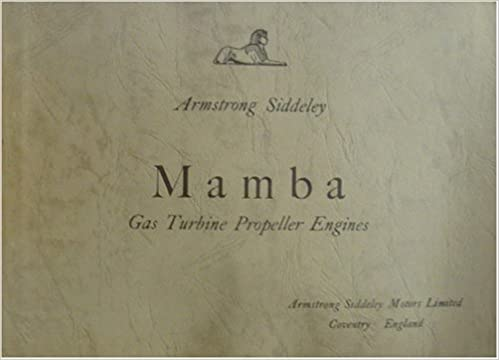 Armstrong Siddeley - Mamba - Gas Turbine Propeller Engines