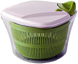Paderno World Cuisine Manual Salad Spinner