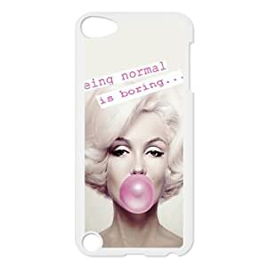 DIY Stylish Printing Marilyn Monroe Cover Custom Case For Ipod Touch 5 MK1M503466
