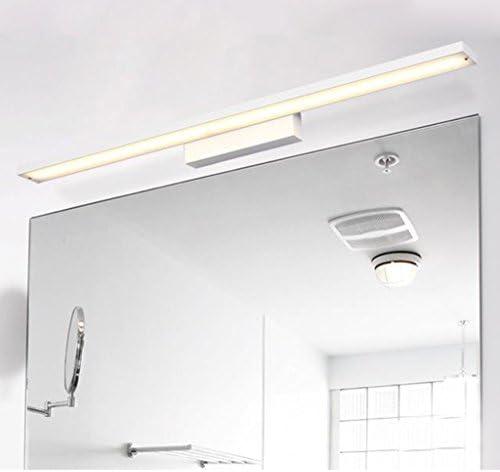 &LED Spiegelfrontlampe Led Spiegel Scheinwerfer, Badezimmer Badezimmer Einfache Aluminium Spiegel Lampe vor dem Spiegel (Color : A)