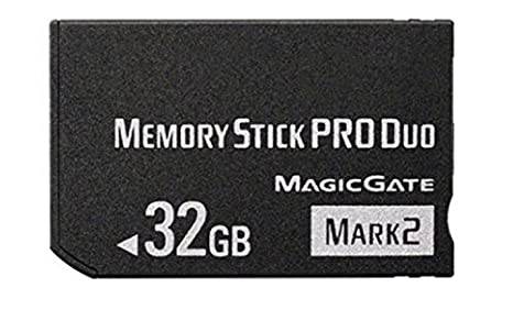 Amazon.com: 32 GB Memory Stick Pro Duo Mark2 Memory Stick ...