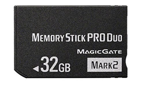32GB memory stick Pro duo MARK2 Memory Stick for Sony PSP Accessories/ camera memory card ()