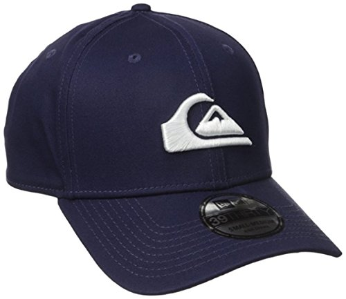 Quiksilver Men's Mountain and Wave Colors Hat, Navy Blazer/Red, (Quiksilver Mens Mountain Wave)
