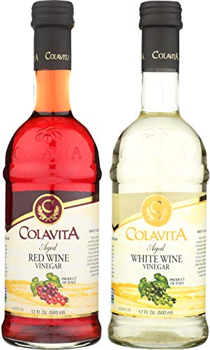 Colavita Special Aged Wine Vinegar, Red/White, 34 oz