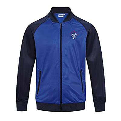 Rangers FC Official Soccer Gift Boys Retro Track Top Jacket