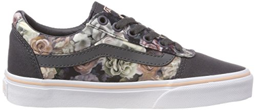 Scarpe Ufm Satin Ginnastica da Ward Canvas Floral Donna Vans Multicolore Basse Rose Cloud 1wE7Hnq
