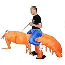 Inflatable Man Piggyback Big Mantis Shrimp Animal Adult for Halloween Party