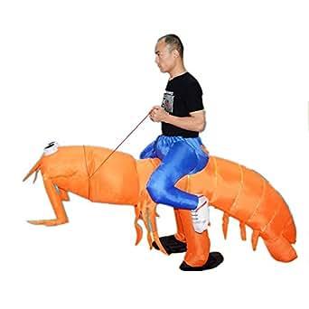 Amazon.com: Inflatable Man Piggyback Big Mantis Shrimp