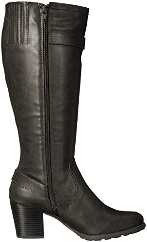 Harness Wide Boot Women's Dover Mountain White Black Shaft Xzx646w