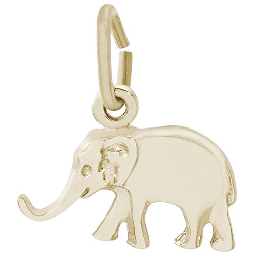 Rembrandt Charms, Elephant, 14K Yellow Gold by Rembrandt Charms