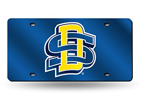 Rico (LZC410901) NCAA South Dakota State Jackrabbits Laser Cut License Plate by Rico