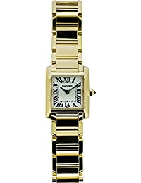Tank Francaise quartz womens Watch W50002N2 (Certified Pre-owned)
