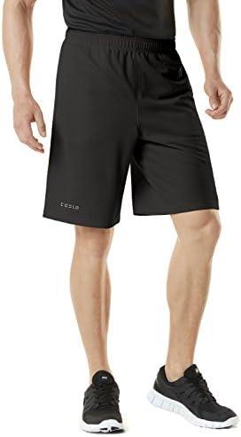 Tesla Men 's Quick Dry Active pantalones cortos Rendimiento deportivo hyperdri II con bolsillos mbs02/mbs01/mtp07
