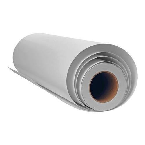 Inkpress Adhesive Luster Inkjet Paper, 240 gsm Weight, 95% Brightness, 9.5 mil Thickness, 17''x100' Rolls by Inkpress