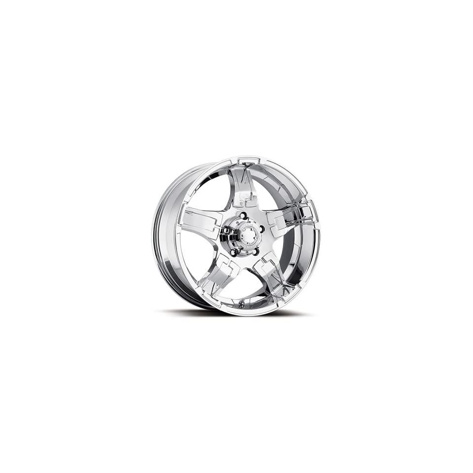 Ultra Drifter 20 Chrome Wheel / Rim 8x180 with a 18mm Offset and a 124 Hub Bore. Partnumber 194 2998C+18
