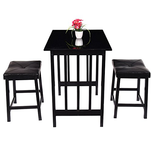 Drexel Antique Furniture (3 PCS Modern Counter Height Dining Set Table W/2 Chairs)
