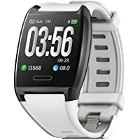 HalfSun Fitness Tracker, Activity Tracker Fitness Watch with Heart Rate Monitor, Blood Pressure Monitor, IP67 Waterproof…