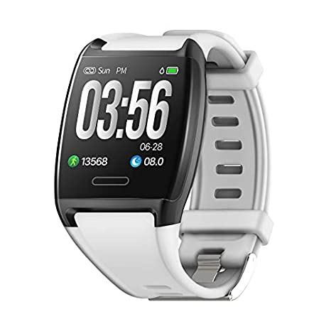 Smart Watch Compatible with iOS Android Phone, IP67 Waterproof 1.3