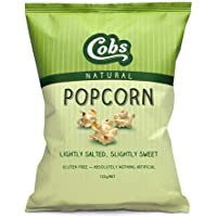 Cobs Natural Lightly Salted and Slightly Sweet Gourmet Popcorn, 120 g
