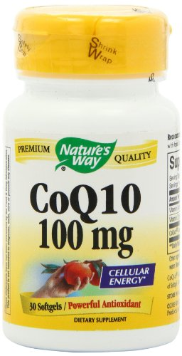 Way CoQ10 Nature 100mg, 30 gélules