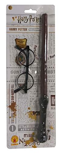 Rubie's Harry Potter Accessories Kit (packaging may vary), One Size, Multicolor (Harry Potter Wand Tee)