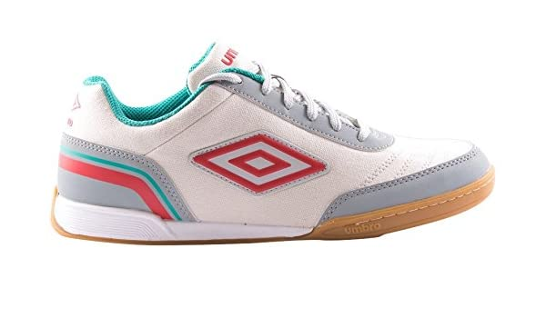 Umbro Futsal Street V Bota IC, Zapatillas Hombre, Multicolor (White/Grey/Red/Blue), 42 EU: Amazon.es: Deportes y aire libre