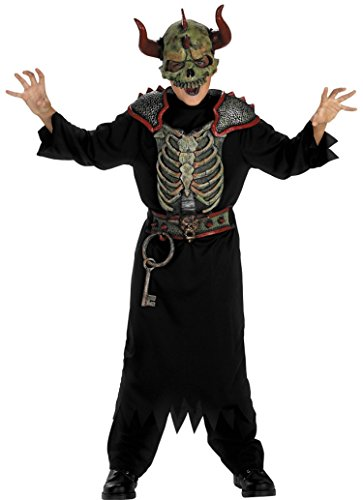 Disguise Boys Gate Keeper Kids Child Fancy Dress Party Halloween Costume, M (7-8)]()