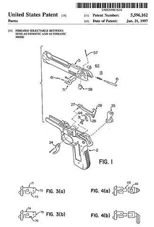 Amazon com: 1997 - Beretta 92F M9 - Automatic Firearm