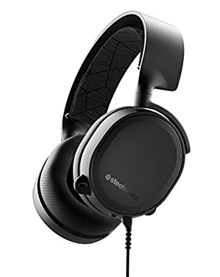 SteelSeries Arctis 3 All-Platform Gaming Headset for PC (Certified Refurbished)