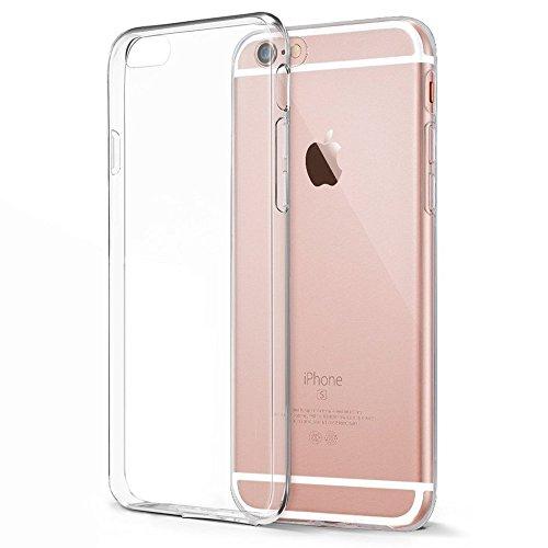 iPhone 6 Hülle, Splaks Ultra Slim HD-Tranparent Apple iPhone 6 6S Schutzhülle Handyhülle Tasche Case Cover Hülle Bumper Anti-Kratzer Schutz vor Stürzen und Stößen für das iPhone 6 - Transparent