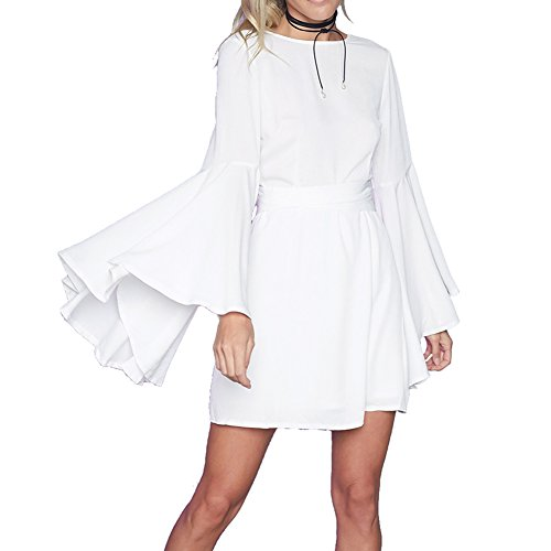 Buy bell bottom sleeve dress - 3