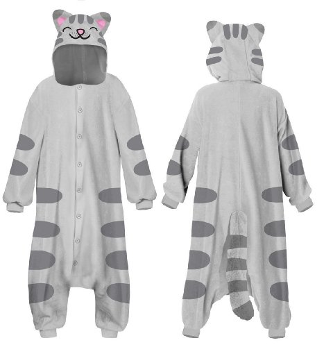 Big Bang Theory Soft Kitty Kigurumi Costume One Size Fits Most One (Soft Kitty Halloween Costume)
