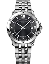 Raymond Weil Tango Gray Dial Stainless Steel Mens Watch 5591-ST-00607