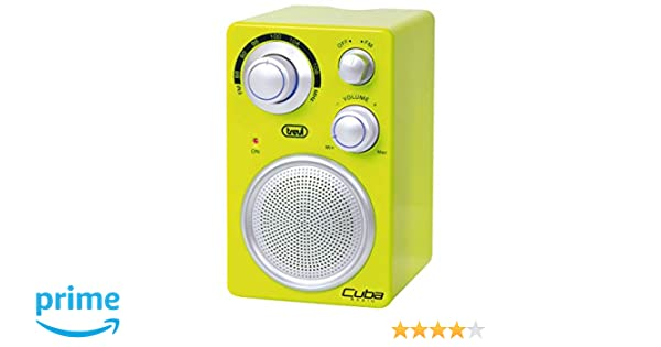 Trevi RA742 Cuba - Radio analógica portatil FM a batería con ...