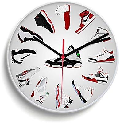 nike jordan sneakers clock